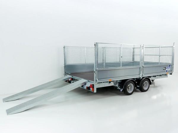 Hochlader 225x423cm 3,5t|Typ:LM147G|Gitteraufsatz|Ifor Williams