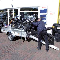 Motorrad Anhänger