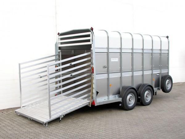 Viehtransporter 178x366x213cm 3,5t Doppelstock
