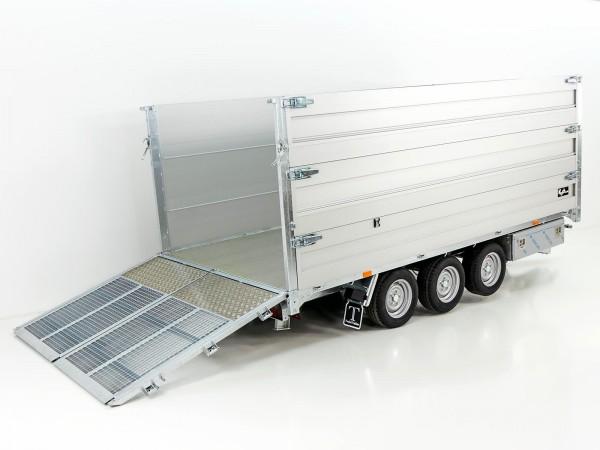 Multi-Heckkipper TW 35-40 3500 kg 192x402x140cm TridaX