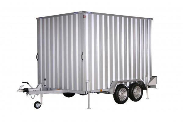 Kofferanhänger Container 194x288cm H:200 2,0t 2-Door Variant