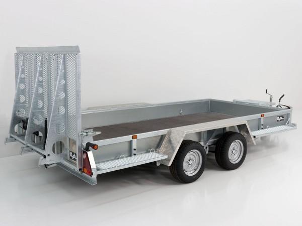 Baumaschinenanhänger Maxi Load 180x400 3,5t|Rampe|Holzboden|Variant