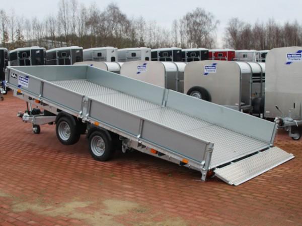 Hochlader 218x487cm 3,5t Typ:CT167 mit Alu