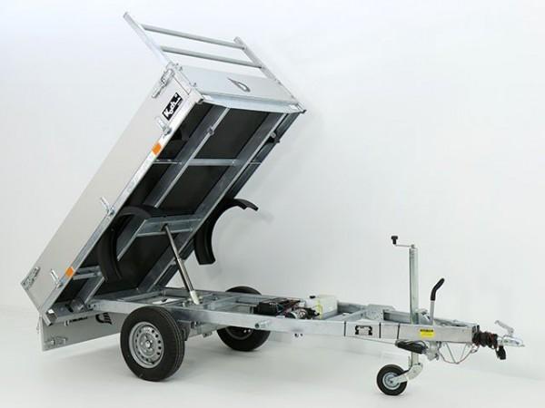 Heckkipper DK 150x250cm 1,3t mit E-Pumpe - Aktion