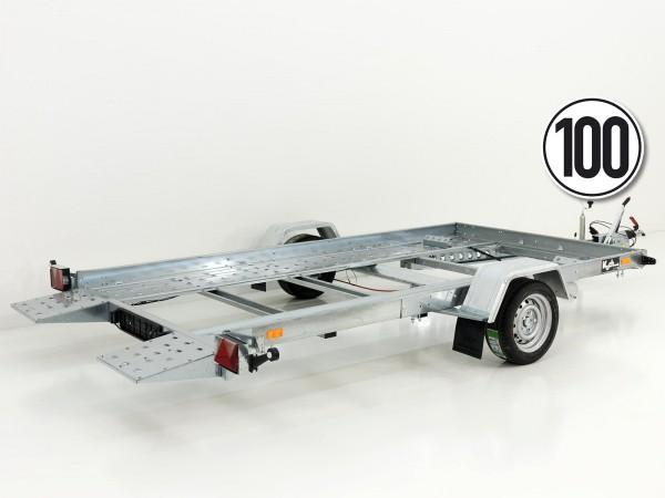Autotrailer Smarty 180x350cm 1,5t kippbar 100km/h