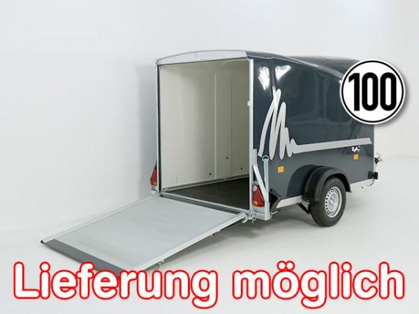 Kofferanhänger DK Vollpoly 150x290cm H:160cm, neues Modell, anthrazit