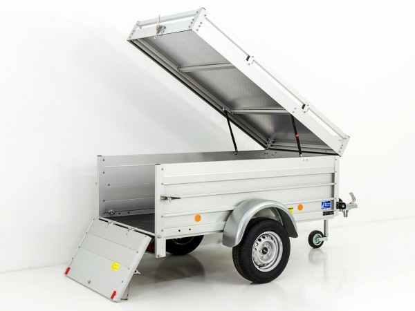 Koch-Anhänger 105x205cm 750kg U2 Deckel 15cm Bordwanderhöhung