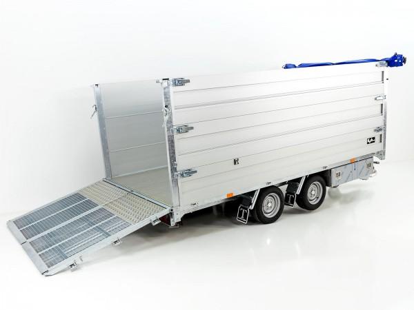 Multi-Heckkipper TT35-40 3,5t|192x402x140cm|Tandem|Twintrailer