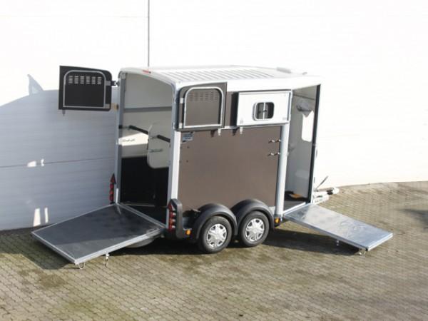 Pferdeanhänger HB506 mit Frontausstieg, Anthrazit