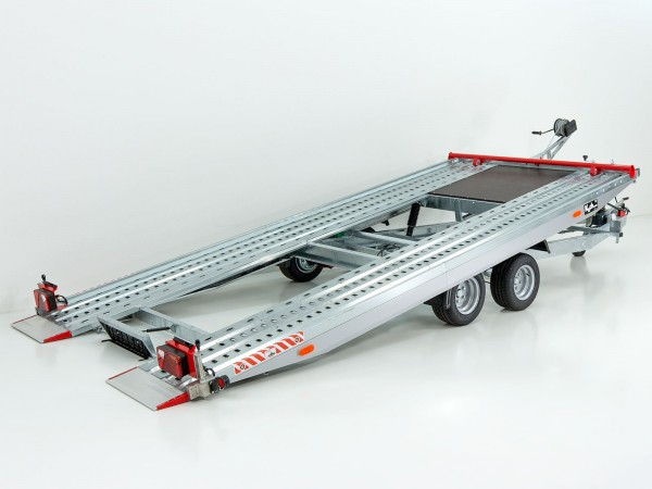 Autotrailer Race Master Maxi Profi 208x500cm 2,7t Stahl