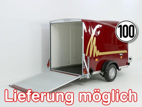 Kofferanhänger DK Vollpoly 150x290cm H:160cm, neues Modell, rot