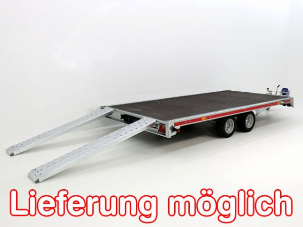 Autotrailer Universal 215x400cm 3,0t|Tema