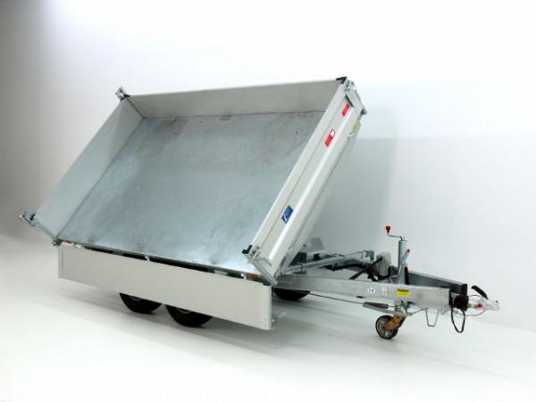 Kipper UDK Profi 175x306cm 3,5t E-Pumpe+Rampentunnel