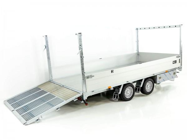 Multi-Heckkipper TT27-30 2,7t|183x309x40/120cm|Tandem|Twintrailer