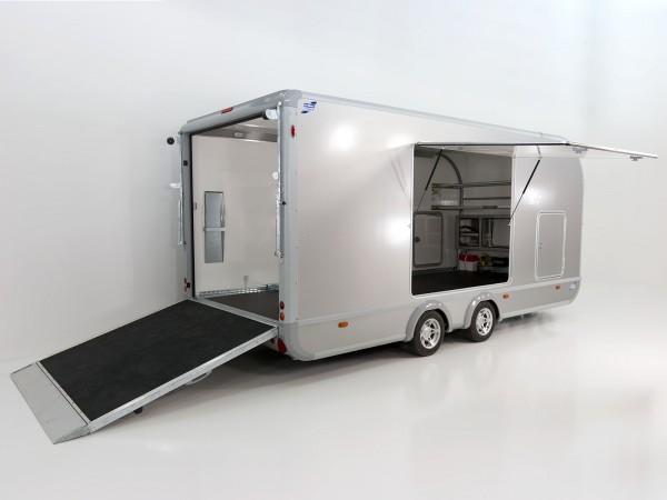 Autotrailer Transporta 225x522cm Höhe:205cm 3,5t|Seitenklappen|Ifor Williams