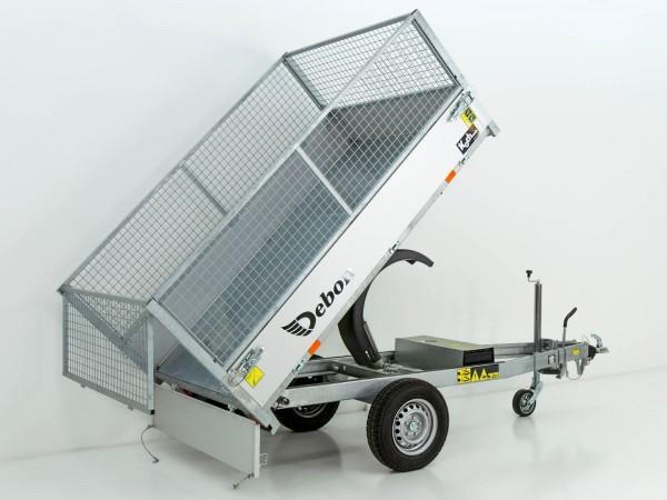 Heckkipper DK 150x250cm 1,3t|E-Pumpe|Gitter|Aktion|Debon