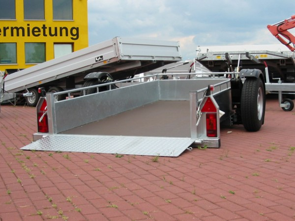 Absenkanhänger GAS 150x306cm 1,8t