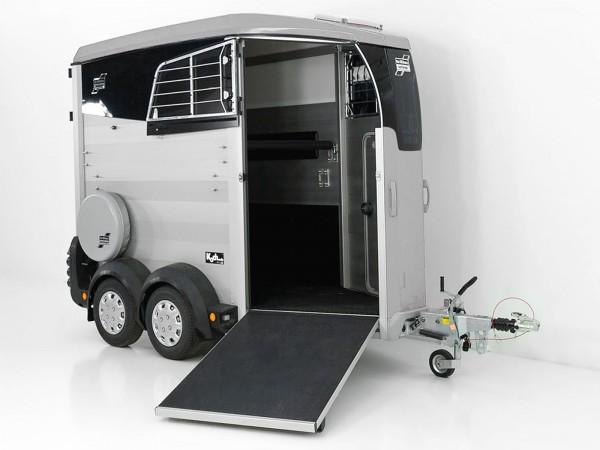 Pferdeanhänger HBX 403|Frontausstieg|neues Modell|silber|Ifor Williams