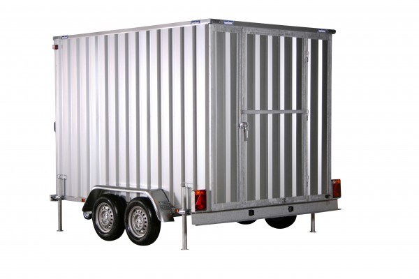 Kofferanhänger Container 194x288cm H:200 2,0t|1-Door|Variant