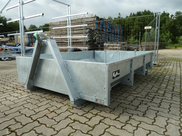 Abroll-Mulde 251x177x40cm für Hakengerät