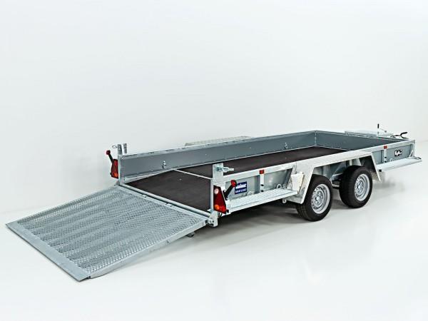 Baumaschinenanhänger Maxi Load 180x400 3,5t Rampe Beavertail
