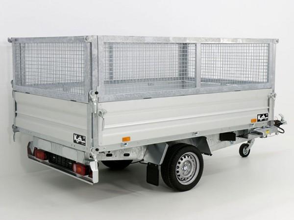 Heckkipper THK 1500 155x265cm + Gitteraufsatz
