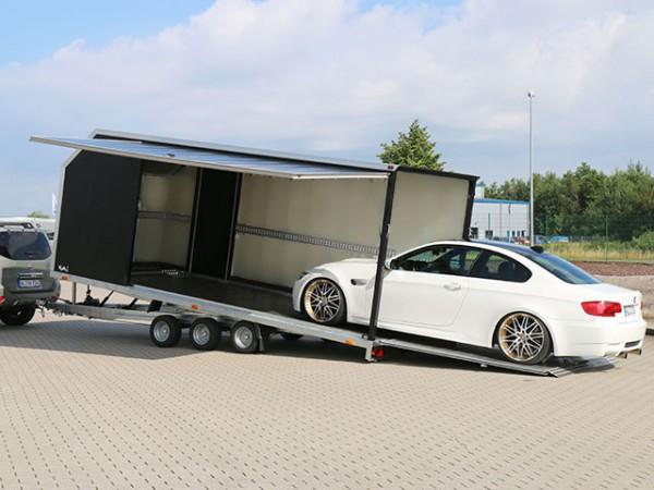Autotrailer Cargo Race Master 230x550cm Höhe:210cm 3,5t mit E-Winde