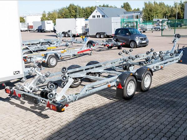 Bootstrailer PL350 für Boote bis 8,80m Model 2019
