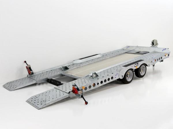 Autotrailer 220x500cm 3,5t|Typ:CT177|Aluboden|Ifor Williams