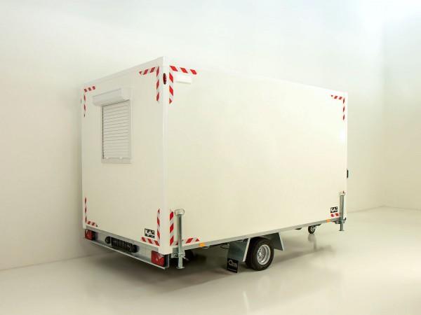 Bauwagen BK 210x360cm Höhe:210cm 1,3t