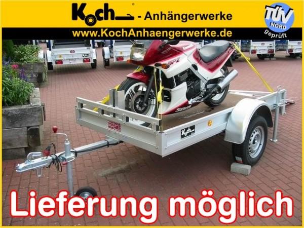Motorradanhänger 125x250cm 750kg Typ U4 M -TOP-