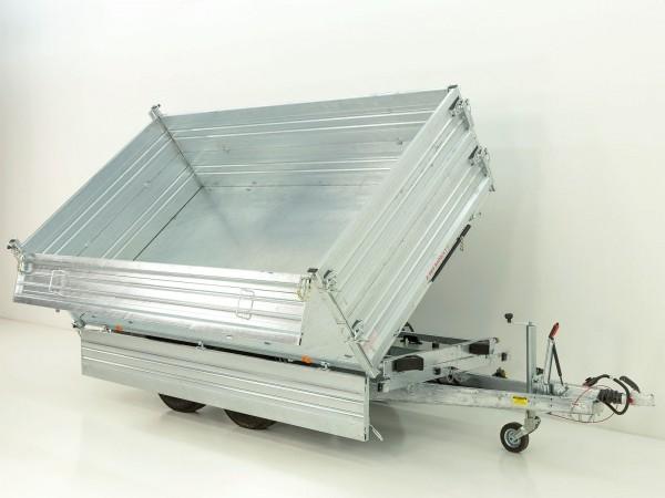 Dreiseitenkipper PDK *Stahlbordwände* 176x310cm 3,0t E-Pumpe m. BWA