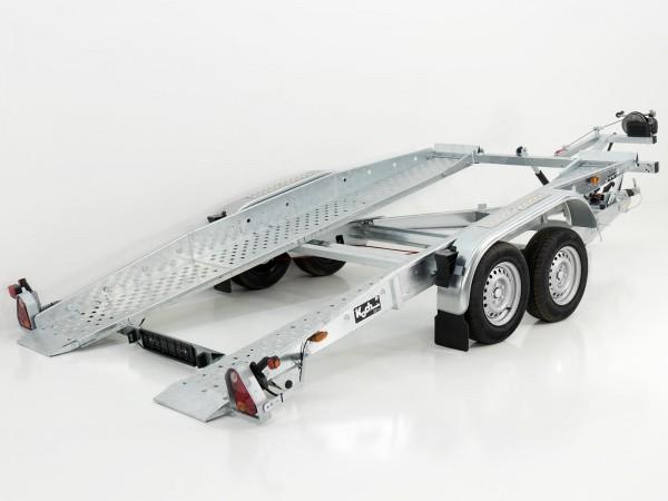 Autotrailer U110 192x400cm 2,5t Seilwinde kippbar