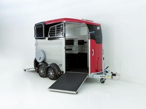 Pferdeanhänger HBX 511 mit Frontausstieg neues Modell rot