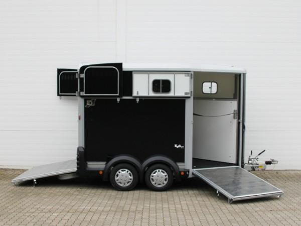 Pferdeanhänger HB511|Diagonal|Anthrazit|Ifor Williams