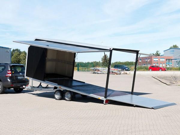 Autotrailer Cargo Race Master 210x560 3,5t E-Winde