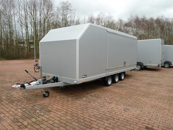Autotrailer Cargo Race Master 210x550cm H180cm 3,5t E-Winde, silber VF