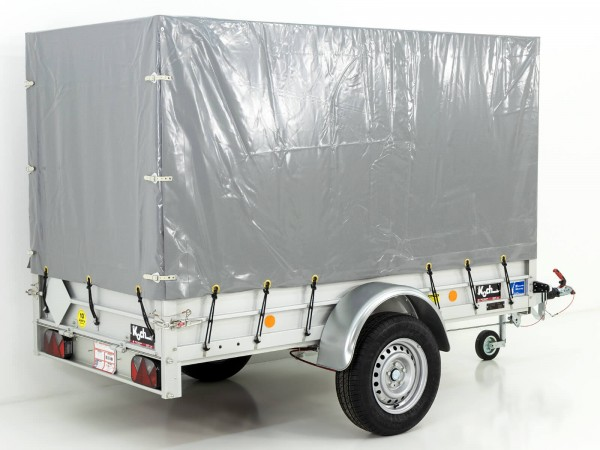 Koch-Anhänger 125x250cm 1300kg|Typ 4.13|Hochplane 150cm|Koch