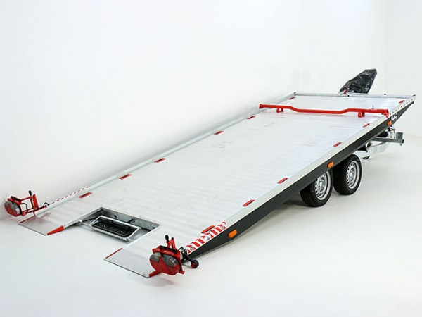 Autotrailer Race Master Profi Alu 208x550cm 3,5t E-Winde