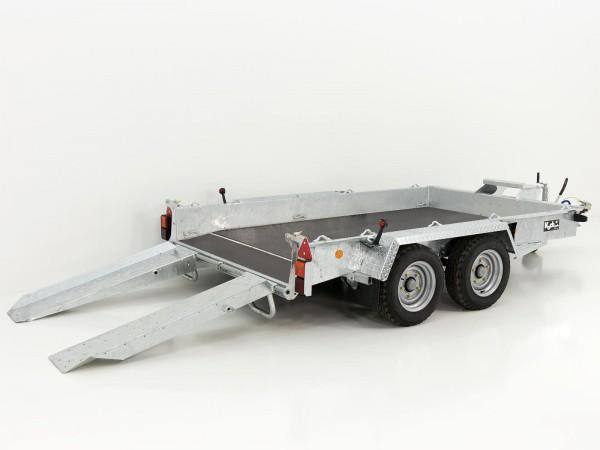 Baumaschinenanhänger GH106 Skids 184x305cm 3,5t