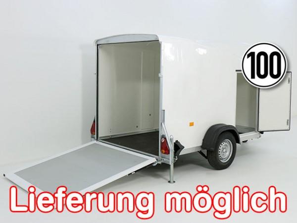 Kofferanhänger DK Vollpoly 150x290cm H:160cm, neues Modell, weiß