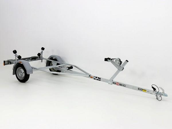 Bootstrailer EL60 für Boote bis 4,3m - 13 Zoll Reifen -