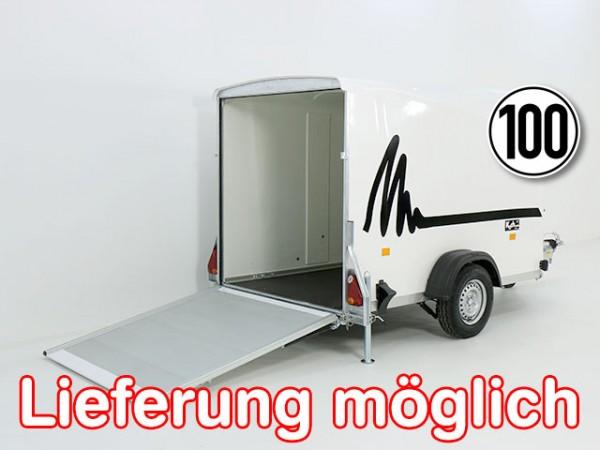 Kofferanhänger Vollpoly 150x290cm H:160cm, neues Modell, weiß