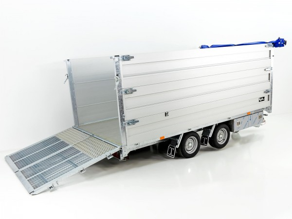 Multi-Heckkipper TW 35-40 3500 kg 192x402x140cm Tandem