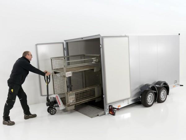 Koffer-Absenkanhänger 170x400cm 3,5t