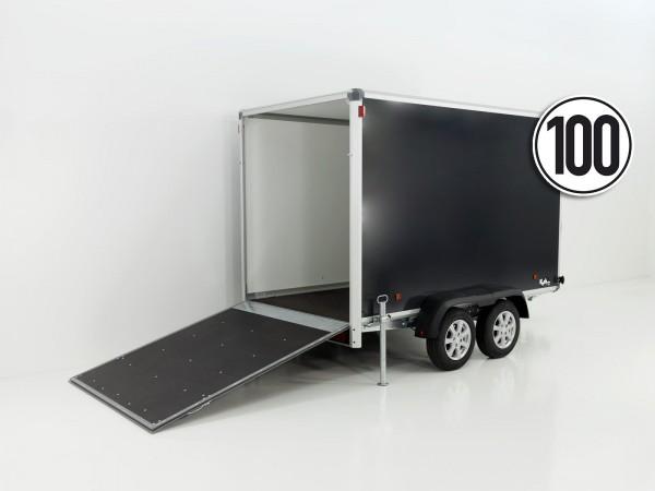 Kofferanhänger Black Edition 168x302cm H:188cm 2,0t - Aktion