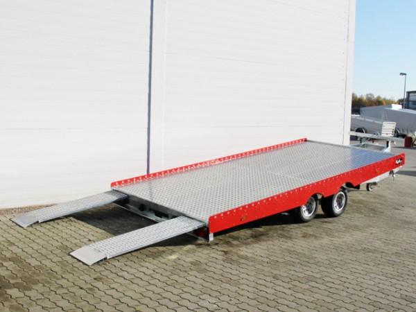 Autotrailer AHK 207x430cm 3,0t komplett Alu