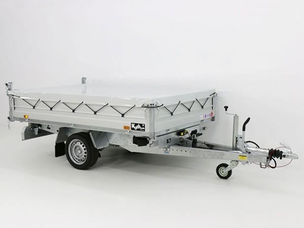 Heckkipper THK 1500 155x265cm E-Pumpe+Flachplane