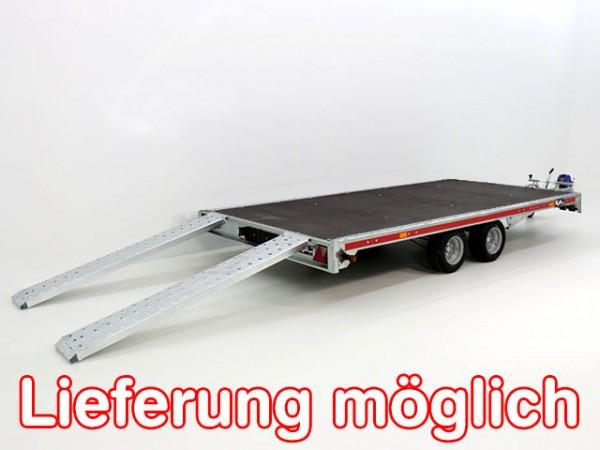 Autotrailer Universal 215x450cm 2,7t|Tema