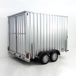 Materialcontainer Anhänger
